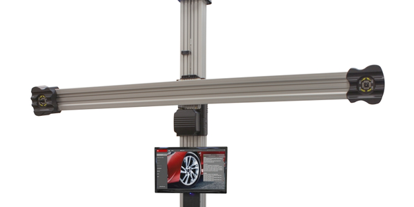 The John Bean V2280 features high resolution cameras for accurate alignment readings and...