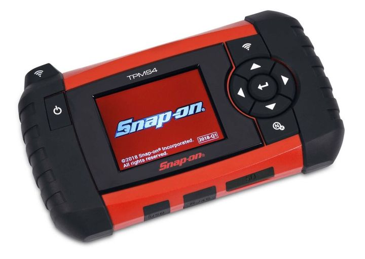 Snap-on's new tool helps test tire pressure monitoring systems.  - Photo courtesy of Snap-on