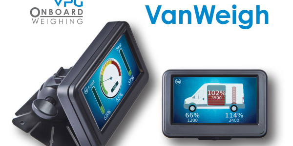 Gross vehicle weight (GVW) and per axle load information is displayed to the driver on an...