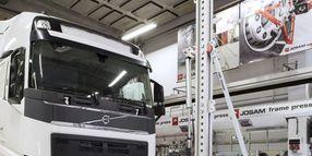 Josam Cab Tower Designed for Repairing HD Trucks