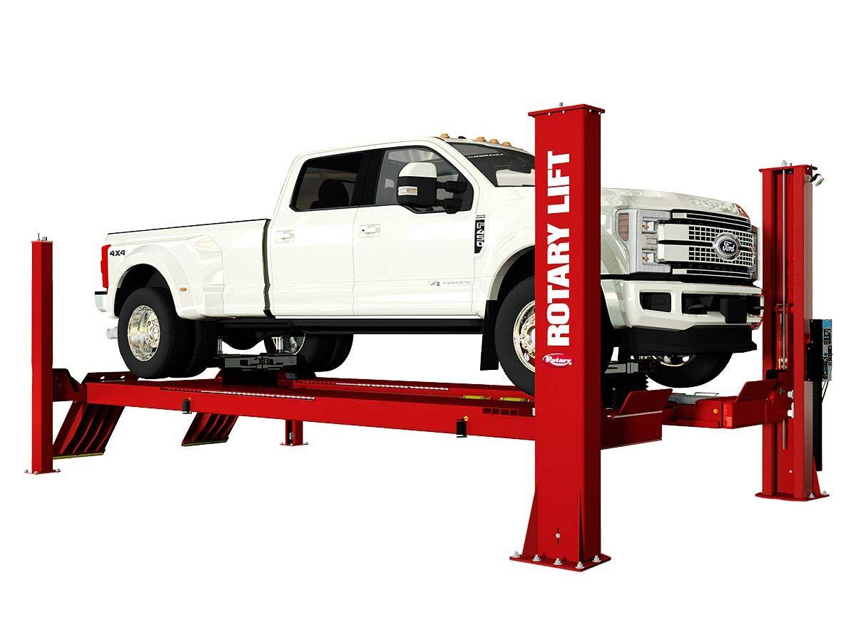 Rotary's High-Capacity Lift Fits Work Trucks