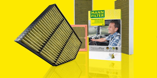 Mann-Filter expanded its FerociousPlus cabin air filter range to include commercial trucks and...