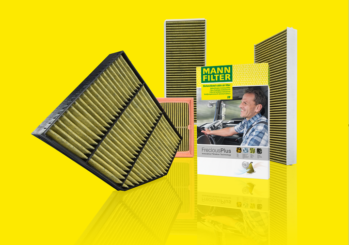 Mann-Filter expanded its FerociousPlus cabin air filter range to include commercial trucks and buses.  - Photo courtesy Mann-Filter