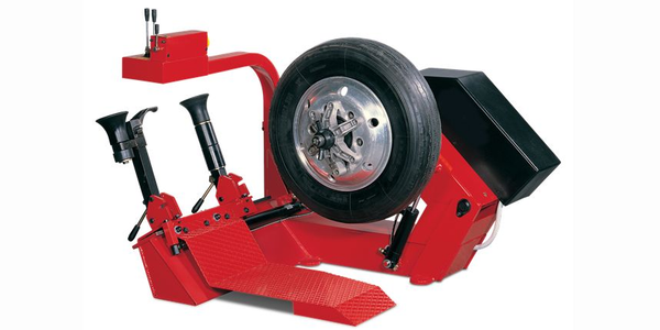 The new John Bean T8010TR heavy duty tire changer is designed to take up a minimum amount of...