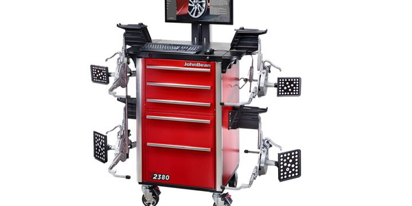 The John Bean V2380 Wheel Alignment System is an advanced imaging alignment system that does not...
