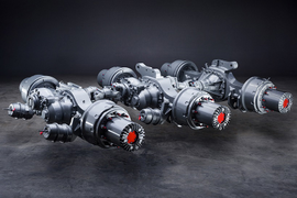 Meritor Offers 5-Planet Wheel Ends on P600 Axles
