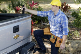 Step-N-Secure Accessory Improves Truck Accessibility