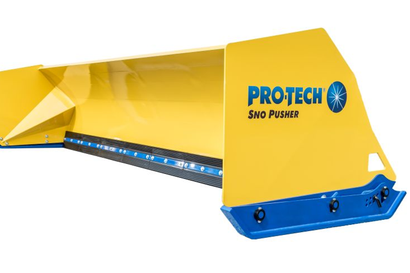 The Fusion Edge is an industry-first for containment snow plows, according to Pro-Tech,coming...