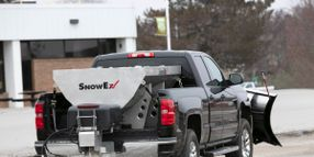SnowEx Updates HELIXX Stainless Steel Hopper Spreaders