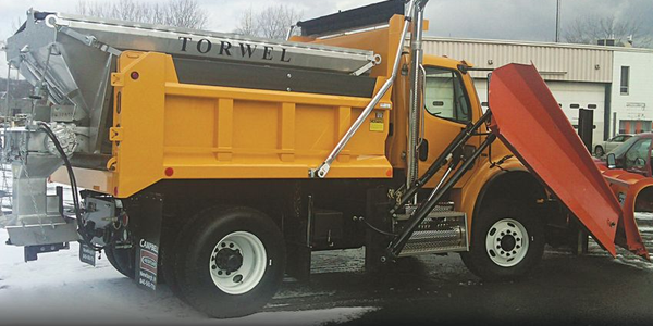 Torwel's commercial/municipal spreaders deliver constant spread patterns and efficient material...