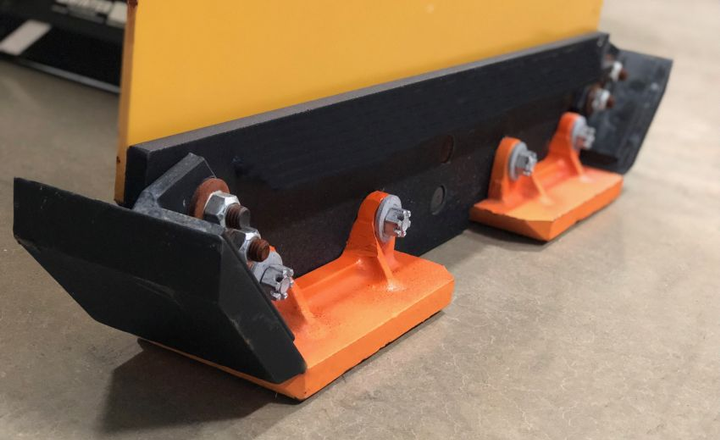 The skid show assembly systems are currently available for ProTechSeries 1 and 2 pusher boxes, as well as Arctic LD and HD systems  - Photo courtesy of Winter Equipment