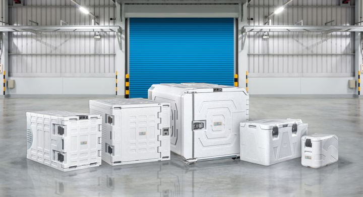 Equipped with refrigeration units designed to withstand vibrations related to vehicle use, the stand-alone containers are made from highly durable molded polyethylene and food-grade materials, are easy to clean and are in compliance with health and safety standards.