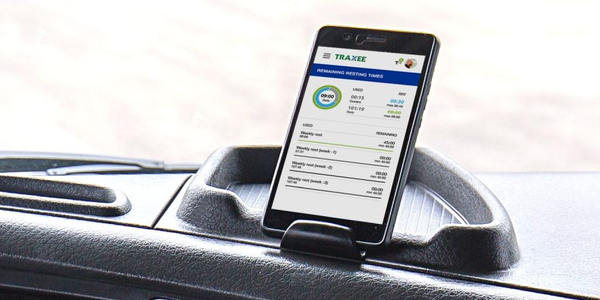TRAXEE provides real-time status updates on individual trucks and driver.