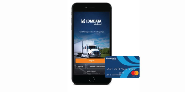 Comdata's new mobile app serves as a platform for users to easily access and manage their funds.