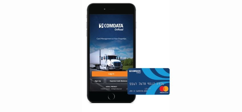 Comdata Mobile App for Driver Fund Management - Operations - Work
