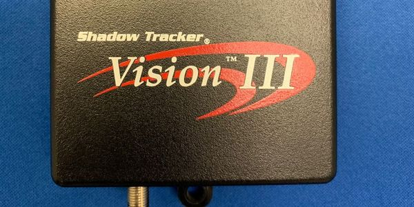 The Shadow Tracker Vision III provides real-time location updates every 10 seconds.