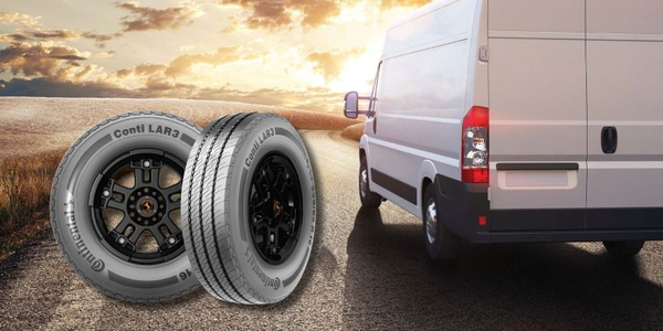 Seeing the increasing trend in last-mile deliveries, Continental just released a commercial tire...