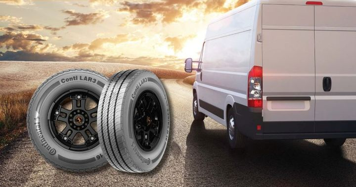 Seeing the increasing trend in last-mile deliveries, Continental just released a commercial tire specifically geared toward Sprinter-style delivery vans