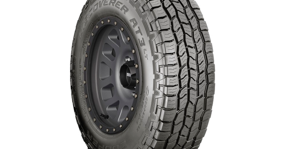 The Discoverer AT3 LT is a light-truck tire that's designed to haul heavy loads.