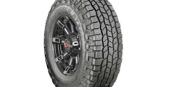 Cooper's new Discoverer AT3 XLT tire for light trucks adds capability for extreme hauling and...