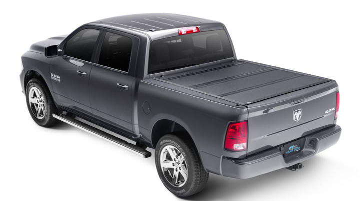 The LXP Tonneau Cover features a low-profile design with flush-mounted panels. - Photo courtesy of LINE-X
