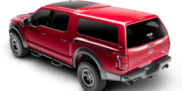 The CX Evolve features the new rear door technology blended with A.R.E.'s classic aluminum-frame...