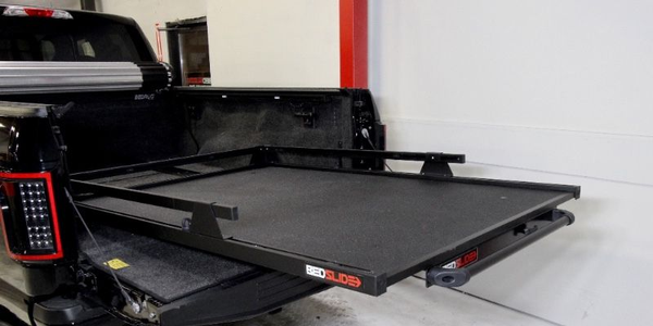 BEDSLIDE now offers 'blacked out'versions of all of its popular equipment and accessories.