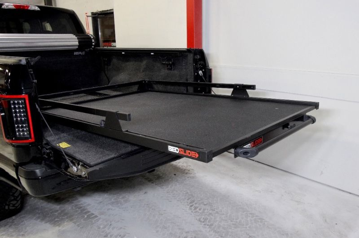 BEDSLIDE now offers 'blacked out'versions of all of its popular equipment and accessories.  - Photo courtesy of BEDSLIDE