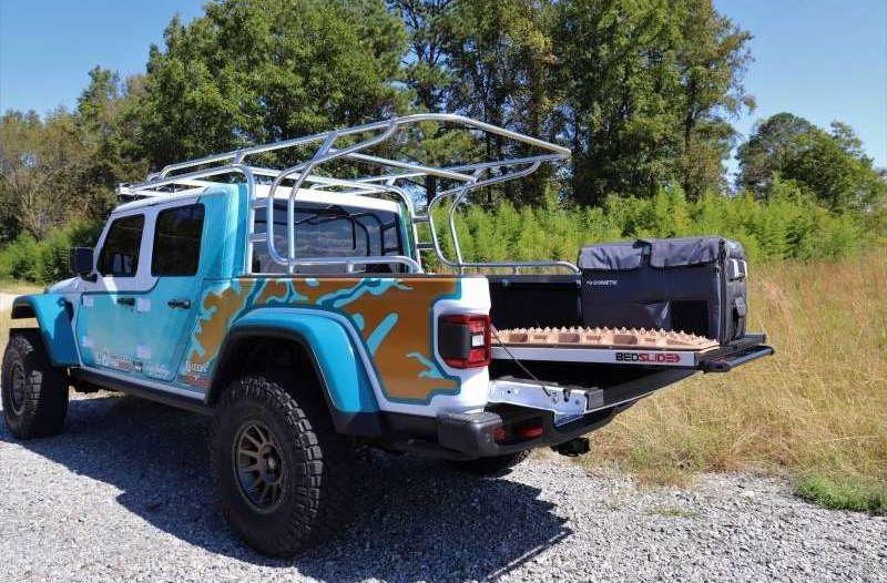 New Bedslide for Jeep Gladiator