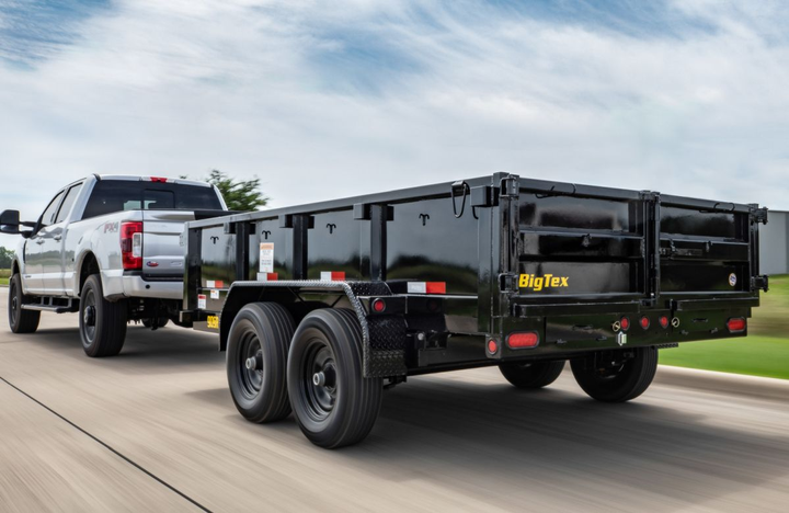 Big Tex has upgraded its 50SR, 70SR, and 90SR model dump trailers toincreaseversatility, durability and functionality across the lineup.  - Photo: Big Tex Trailers