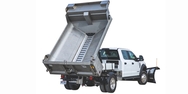 New SaltDogg Dump Spreader for Medium-Duty Trucks