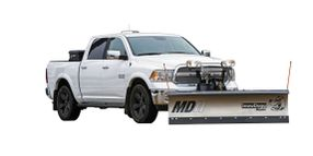 SnowDogg MDII and VMDII Snow Plows for Pickups