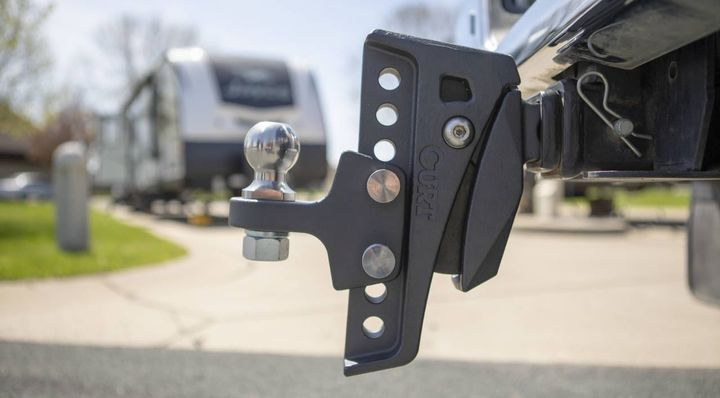 The simple design removes the hassle of an airbag, bearings, and the frequent maintenance required by other cushion hitch options
