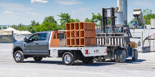 The Big Country, all-aluminum truck body from EBY is a flatbed towing body available in a...