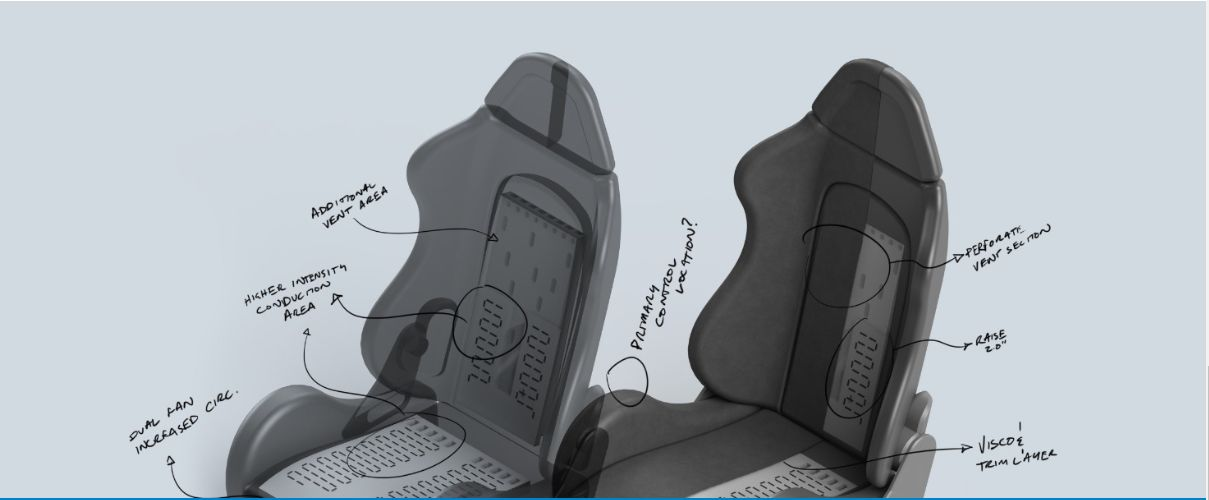 New Walk-In Delivery Truck Driver Seat With Tempronics
