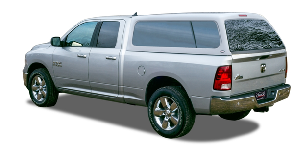 The Ranch Icon truck cap fits several Chevrolet, Dodge, and Ford truck models.