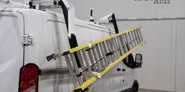 The Max Rack 2.0 eliminates the need for users to stand below the ladder while it lowersdue to...