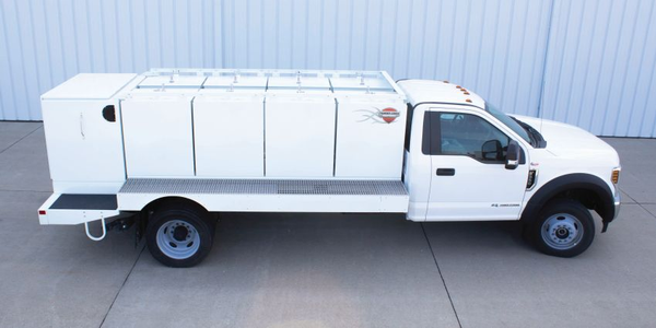 The new Multi-Tank Upfit is currently compatible with the Ford F-550 chassis (Class 5 – either...