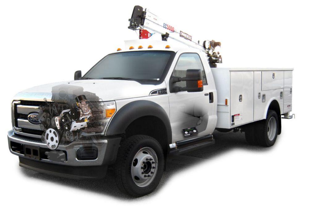 VMAC's Underhood 70 Air Compressor for Ram Trucks