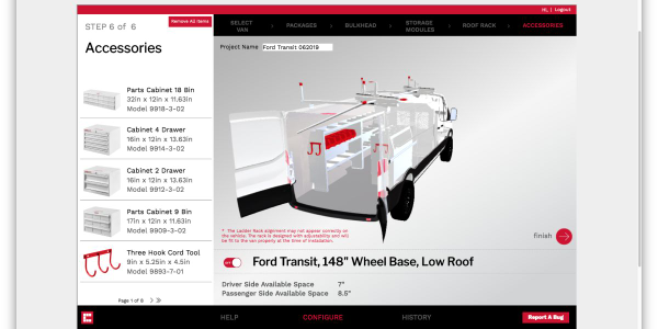 The Weather Guard Custom Van Configurator simplifies the upfit process from concept to...