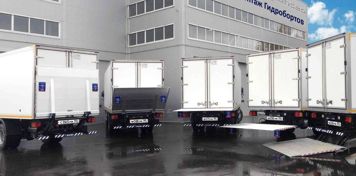 Woodbine is bringing the Anteo lightweight liftgate to the U.S. market.  - Photo courtesy of Woodbine Manufacturing