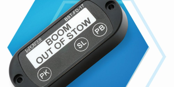 The Boom Out of Stow safety interlock prevents a vehicle from being moved when the boom or...