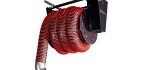 JohnDow Offers Motorized Hose Reel for Exhaust Extraction