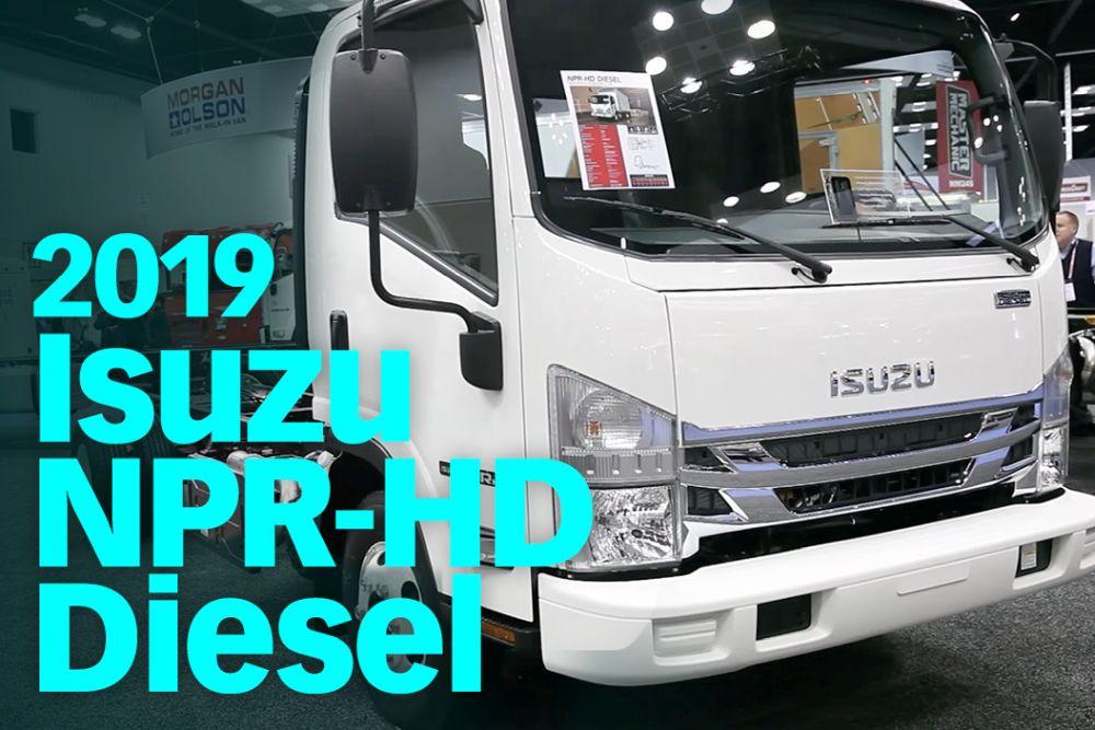 2019 Isuzu NPR-HD