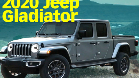 Jeep's 2020 Gladiator Pickup Truck
