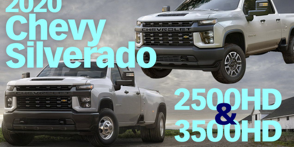 Watch an overview of the Silverado 2500HD pickup and 3500HD chassis cab.
