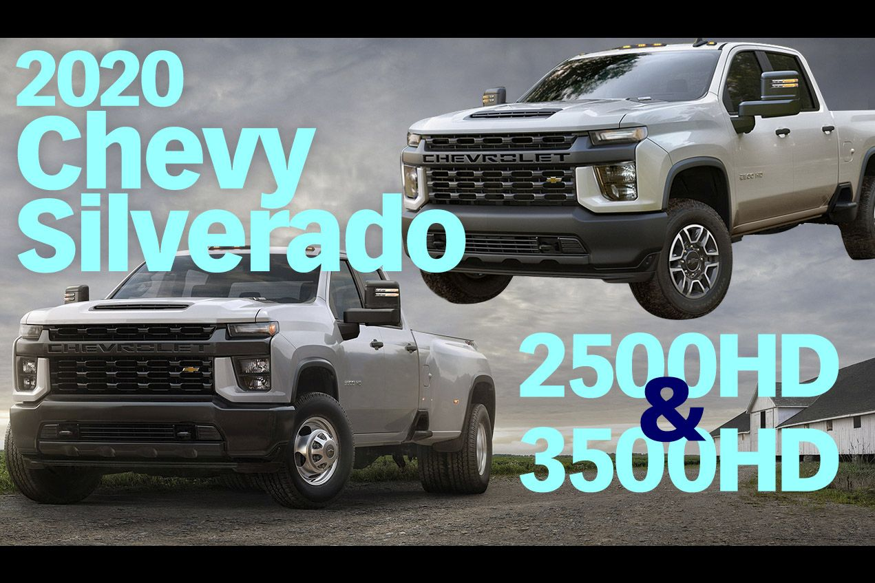 2020 Chevrolet Silverado HD Overview