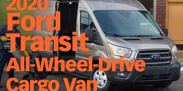 Ford Offers All-Wheel-Drive Transit Cargo Van