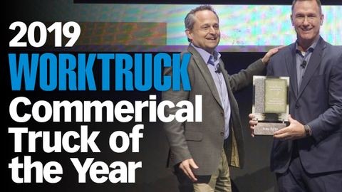 Ford's F-550 Commercial Truck of the Year