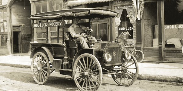 This 1916 International Model MA is featured in the book International Harvester Trucks: The...